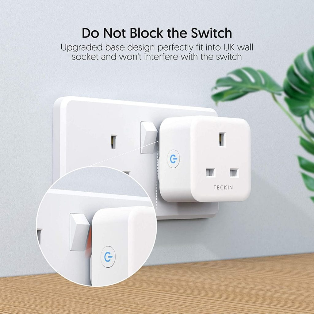 Teckin Smart Plug which is Alexa Compatible in the UK (United Kingdom)