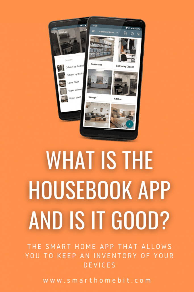 Housebook App for Smart Homes